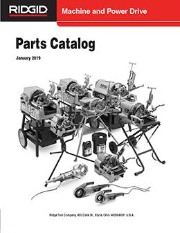 Parts Catalogs | RIDGID Professional Tools